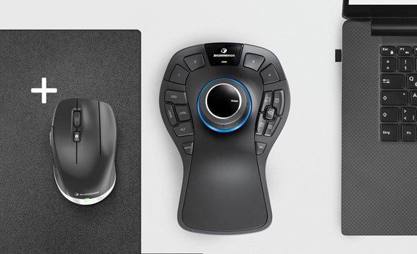 SpaceMouse Pro Wireless Bundle