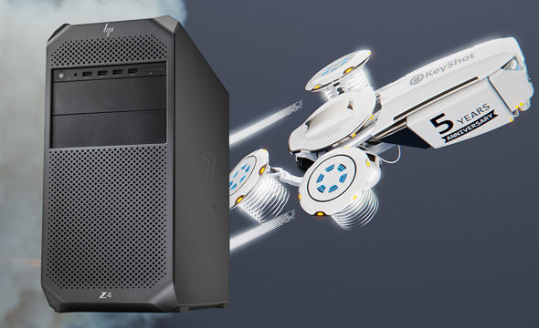 HP Z4 G4 Keyshot Power Workstation